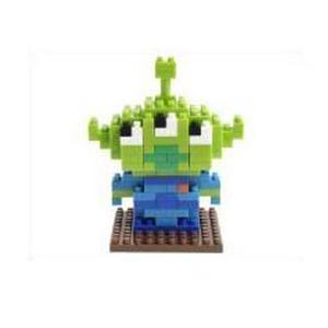 [나노블럭] 도쿄 디즈니 리틀 그린맨(Little Green Man)